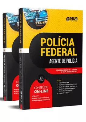 Apostila Concurso Polícia Federal 2021 Grátis Cursos Online Agente de Polícia