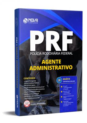 Apostila PRF 2021 Agente Administrativo Impressa e PDF Grátis Cursos Online
