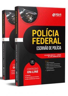 Apostila Escrivão Polícia Federal 2021 PDF e Impressa