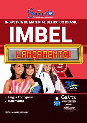 Apostila IMBEL 2021 Impressa e PDF Grátis Conteúdo Online Editora Solução