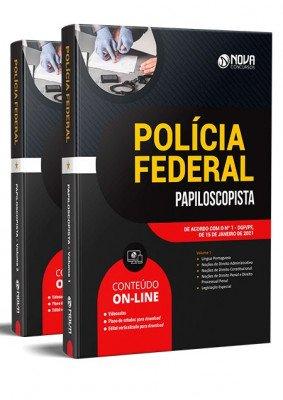 Apostila Papiloscopista Polícia Federal 2021 PDF e Impressa
