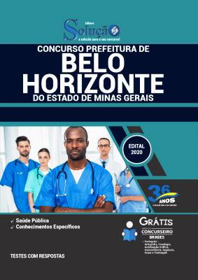 Apostila Prefeitura de Belo Horizonte 2021 PDF e Impressa Editora Solução