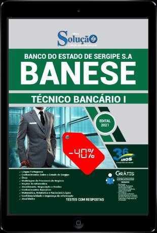 Apostila Concurso BANESE 2021 PDF Download Desconto