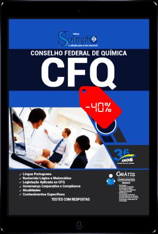 Apostila Concurso CFQ 2021 PDF Download Desconto