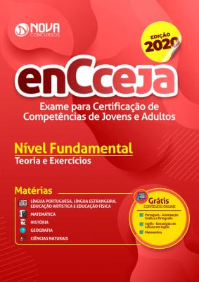 Apostila ENCCEJA Grátis Ensino Fundamental Editora Nova Concursos