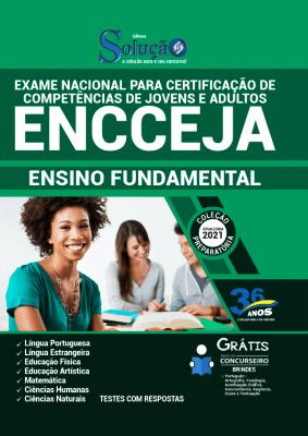 Apostila ENCCEJA 2021 Grátis Ensino Fundamental Editora Solução