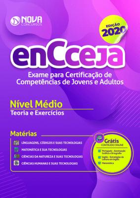 Apostila ENCCEJA Grátis Ensino Médio Editora Nova Concursos