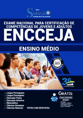 Apostila ENCCEJA 2021 Grátis Ensino Médio Editora Solução
