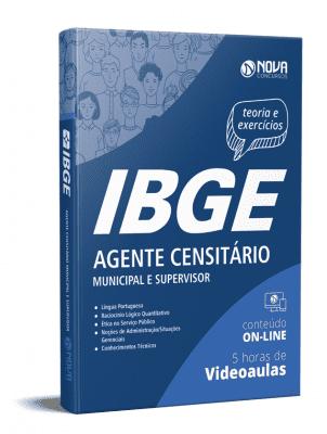 Apostila IBGE 2021 Grátis Agente Censitário IBGE