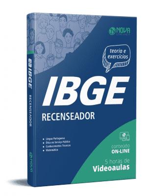 Apostila IBGE 2021 Grátis Recenseador IBGE