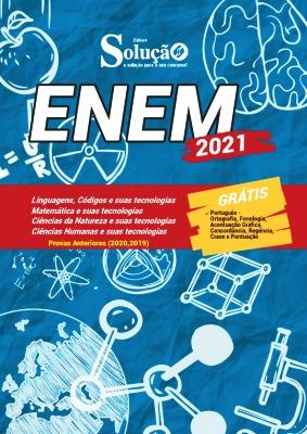 Apostila para estudar para o Enem 2021 PDF e Impressa Editora Solução