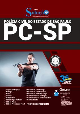 Apostila Polícia Civil SP 2021 Editora Solução