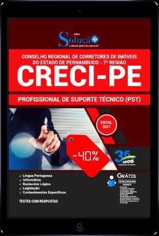 Apostila Concurso CRECI PE 2021 PDF Download Desconto