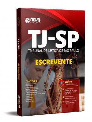 Apostila Concurso Escrevente TJ SP 2021 Grátis Cursos Online