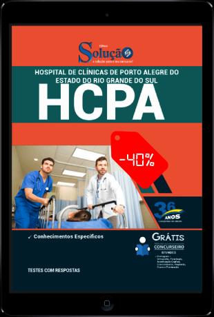 Apostila Concurso HCPA 2021 PDF Grátis