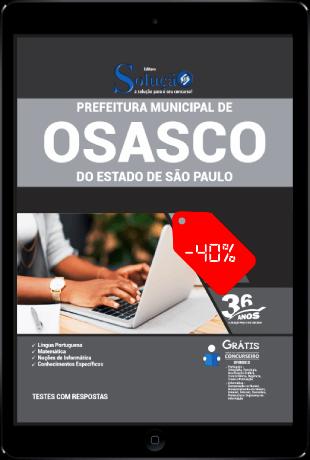 Apostila Concurso Osasco SP 2021 PDF Download Desconto