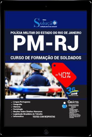 Apostila Concurso PMERJ 2021 PDF Download Grátis Soldado