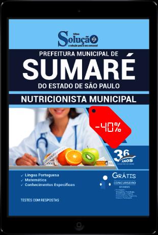 Apostila Concurso Prefeitura de Sumaré SP 2021 PDF Desconto