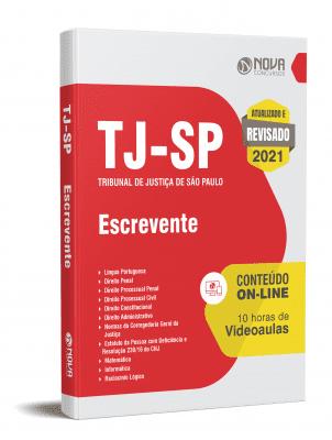 Apostila Concurso TJ SP 2021 PDF e Impressa Escrevente Técnico Judiciário
