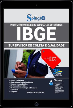 Apostila IBGE 2021 Supervisor de Coleta e Qualidade PDF Download