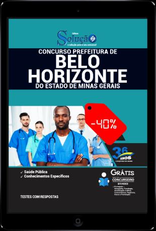 Apostila Prefeitura de Belo Horizonte 2021 PDF Desconto