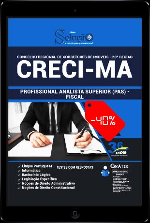 Apostila Concurso CRECI MA 2021 PDF Download Fiscal