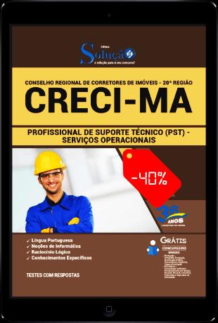 Apostila Concurso CRECI MA 2021 PDF Download Serviços Operacionais