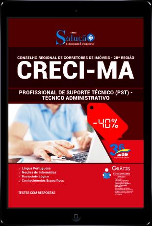 Apostila Concurso CRECI MA 2021 PDF Download Técnico Administrativo