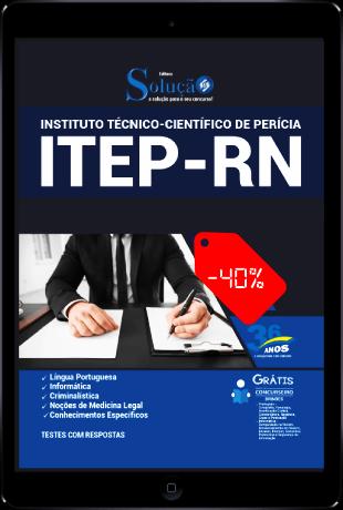 Apostila Concurso ITEP RN 2021 PDF Download e Impressa