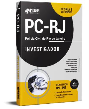 Apostila Concurso PC RJ 2021 PDF Grátis Investigador PC RJ