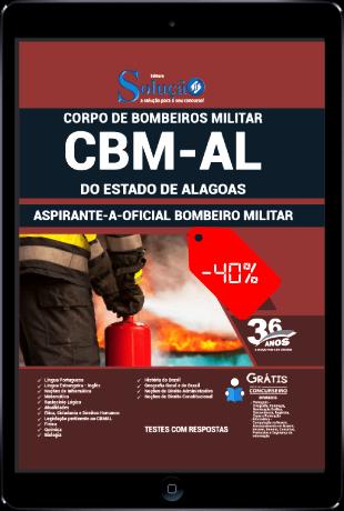 Apostila CBM AL 2021 PDF Oficial CBM AL 2021