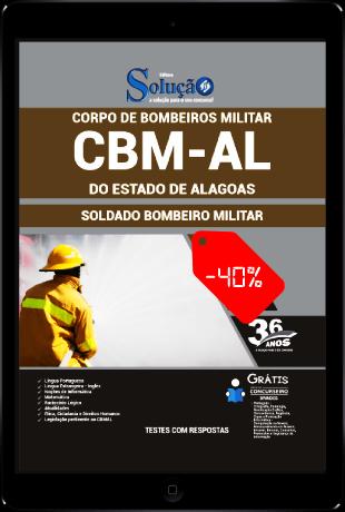 Apostila CBM AL 2021 PDF Soldado CBMAL 2021