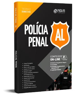 Apostila Concurso Polícia Penal Alagoas 2021 PDF Grátis