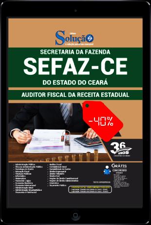 Apostila Concurso SEFAZ CE 2021 PDF Download Grátis Auditor Fiscal