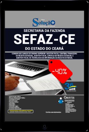 Apostila Concurso SEFAZ CE 2021 PDF Download Grátis Ensino Superior