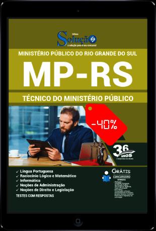 Apostila MP RS 2021 PDF Técnico MP RS 2021