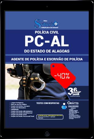 Apostila PC AL 2021 PDF Agente de Polícia Escrivão de Polícia