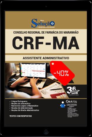 Apostila Concurso CRF MA 2021 PDF Download Assistente Administrativo