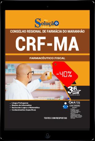 Apostila Concurso CRF MA 2021 PDF Download Farmacêutico Fiscal