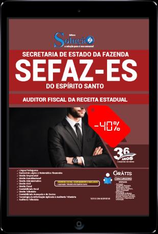 Apostila Concurso SEFAZ ES 2021 PDF Grátis Conteúdo Online