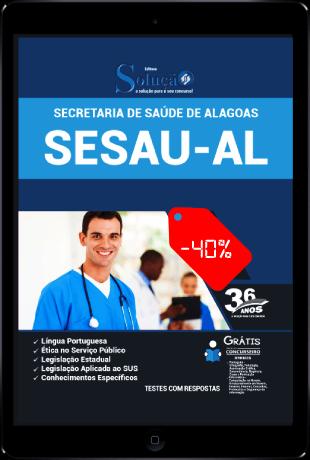 Apostila Concurso SESAU AL 2021 PDF Download e Impressa