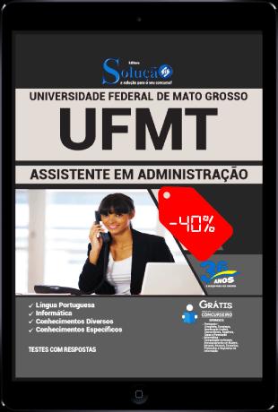 Apostila Concurso UFMT 2021 PDF Grátis Assistente em Administração