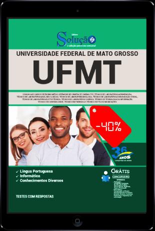 Apostila Concurso UFMT 2021 PDF Grátis Ensino Médio