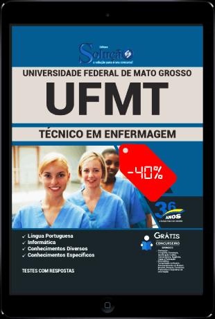 Apostila Concurso UFMT 2021 PDF Grátis Técnico em Enfermagem