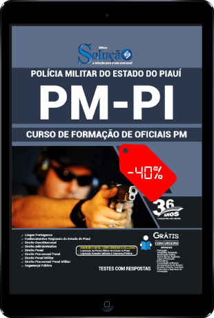 Apostila PM PI 2021 PDF Oficial PM PI 2021