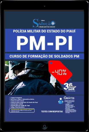 Apostila Soldado PM PI 2021 PDF Download Grátis