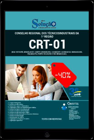 Apostila Concurso CRT 1 Região 2021 PDF Download e Impressa