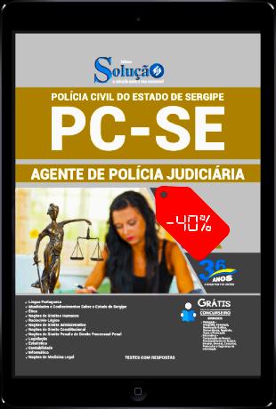 Apostila Concurso PC SE 2021 PDF Grátis Agente de Polícia