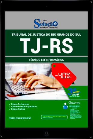 Apostila TJ RS 2021 PDF Download Técnico em Informática