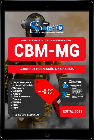 Apostila Bombeiro Militar MG 2021 PDF Grátis Oficial CBM MG 2022